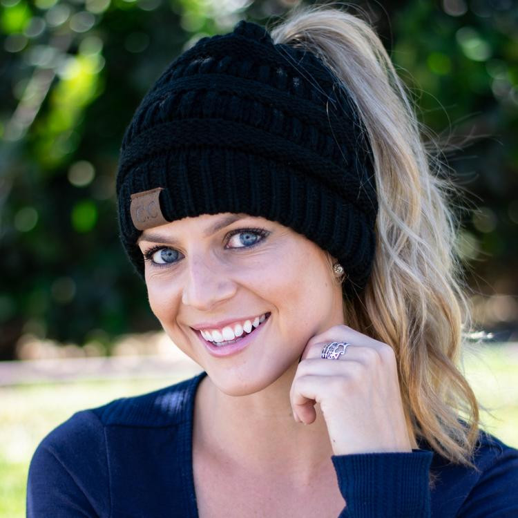 Inspire Uplift - Soft Knit Ponytail Beanie Coupons and Promo Code