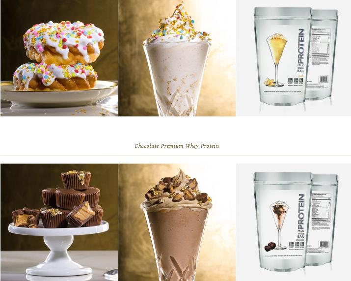 Protein Milkshake Bar