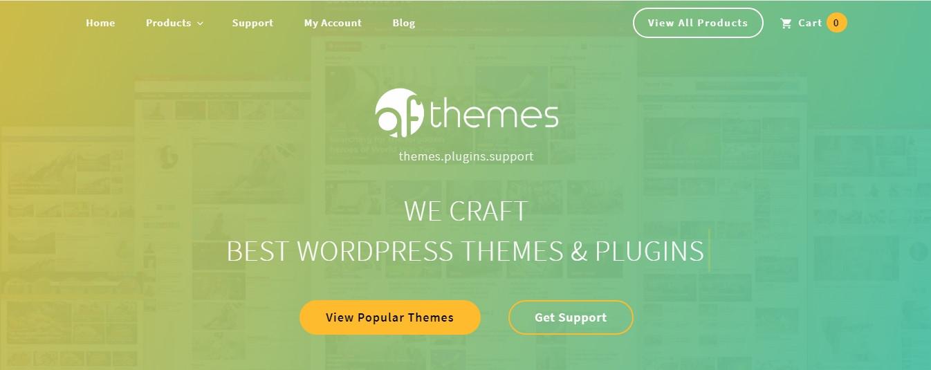 AF themes website