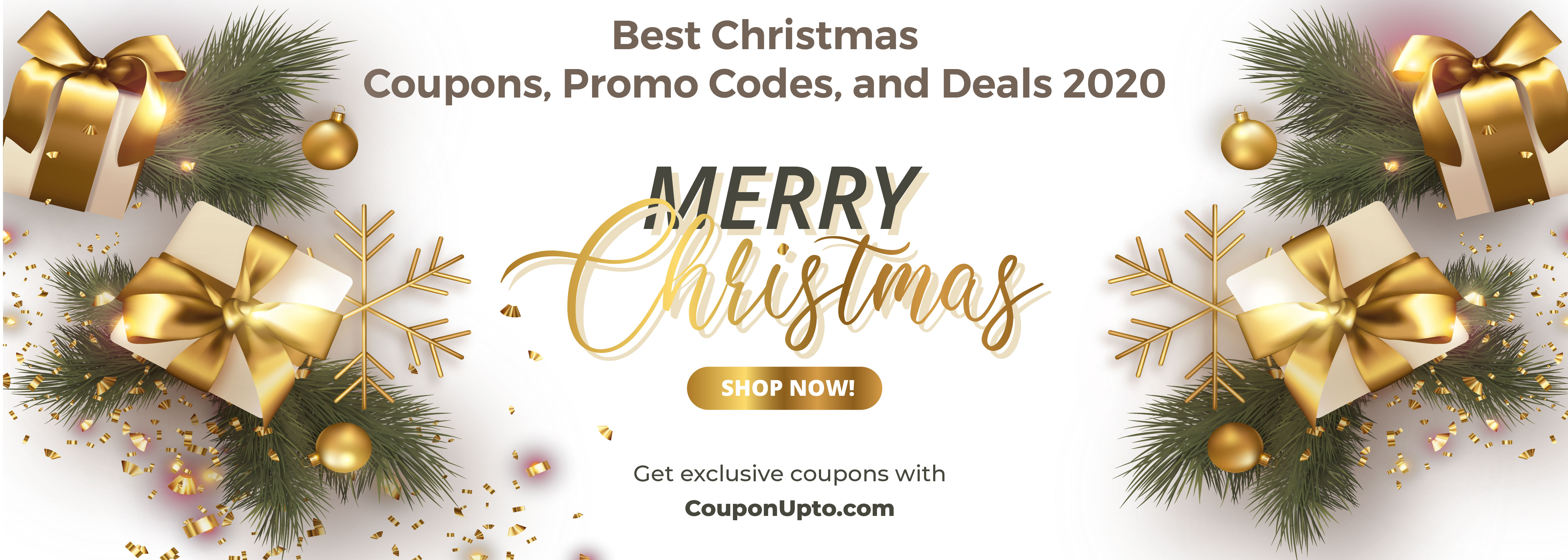 Best Christmas Coupons, Promo Codes, and Deals 2020