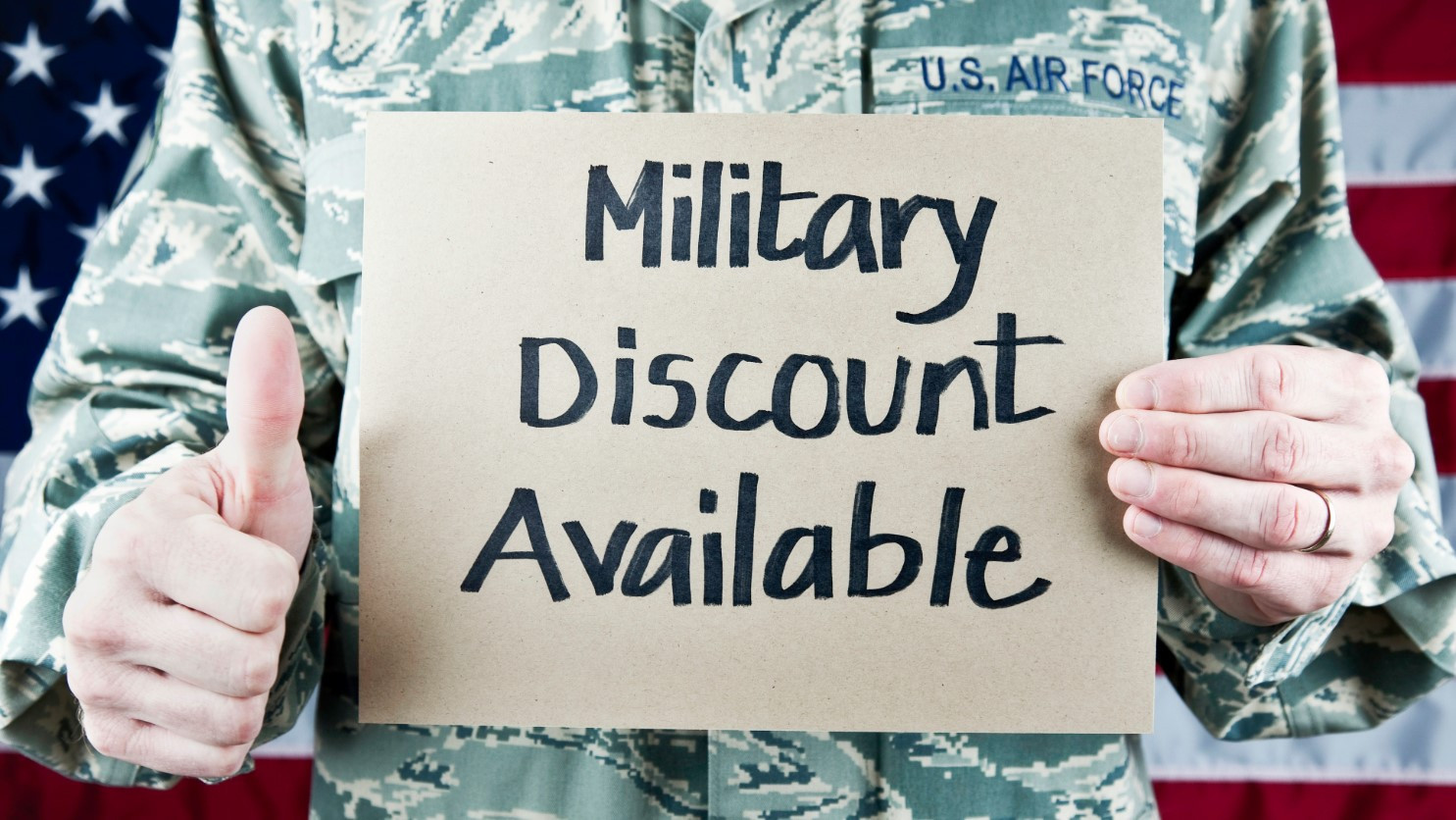 Military discount available