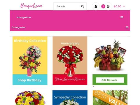 Bouquet.com Coupons and Promo Code