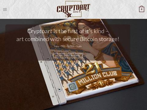 Cryptoart.com Coupons and Promo Code