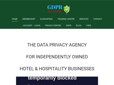 Gdpr For Hotels Coupons and Promo Code