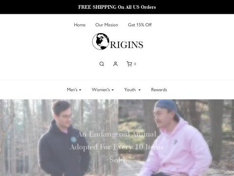 Origins Apparel Coupons and Promo Code