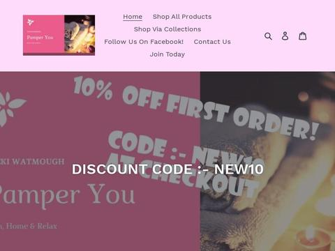 Pamper_You_At_Home Coupons and Promo Code