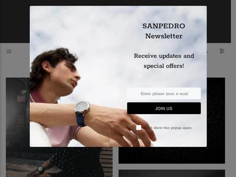 Sanpedro Watches Coupons and Promo Code