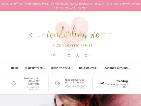 Vondarlingxo Coupons and Promo Code