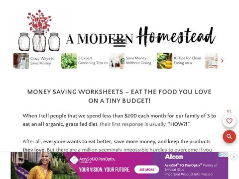 A Modern Homestead Coupons and Promo Code
