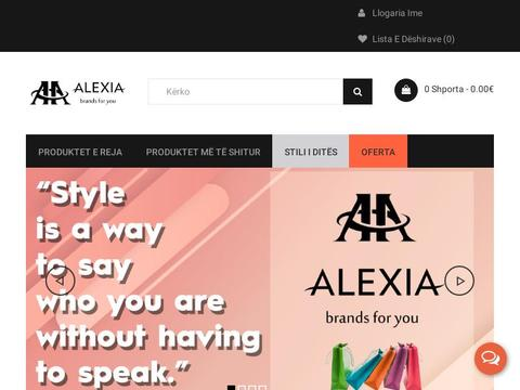 Alexia Shop Coupons and Promo Code