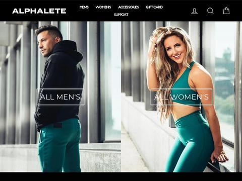 Alphaleteathletics.com Coupons and Promo Code