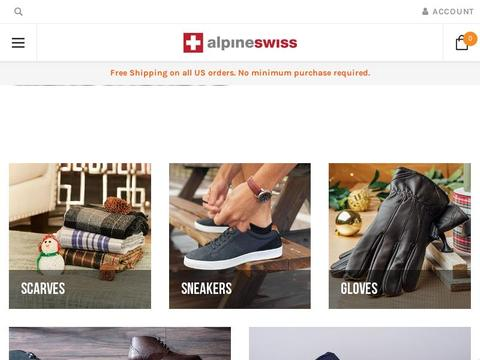Alpine Swiss Coupons
