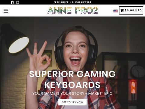 Anne Pro 2 Coupons and Promo Code