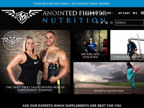 Anointed Fighter Nutrition Coupons and Promo Code