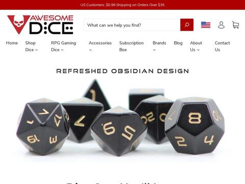 Awesome Dice Coupons