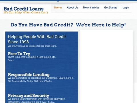 Bad Credit Loans Coupons and Promo Code