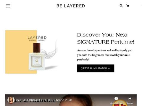 Be Layered Coupons and Promo Code