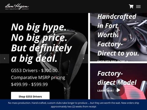 Ben Hogan Golf Equipment Coupons and Promo Code