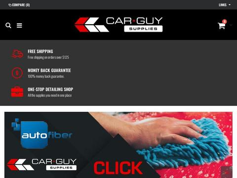 Get 20% Off Washing Gear At Car Guy Supplies