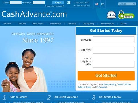 CashAdvance.com Coupons and Promo Code