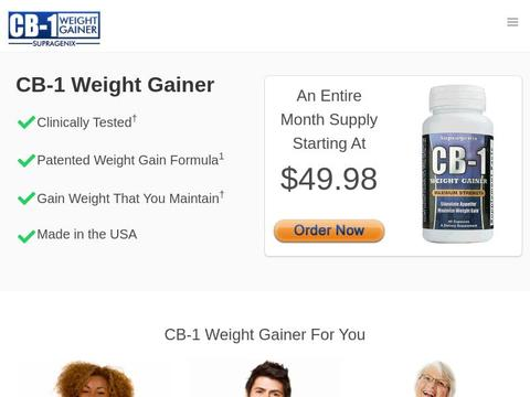 CB-1 Weight Gainer Coupons and Promo Code