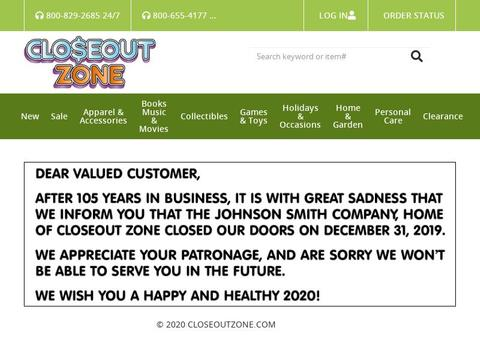 Closeout Zone Coupons