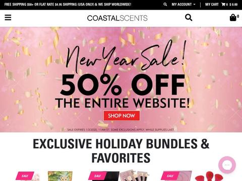 Coastal Scents Coupons and Promo Code