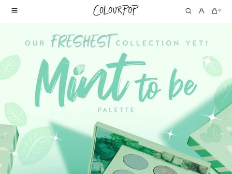 ColourPop Coupons and Promo Code