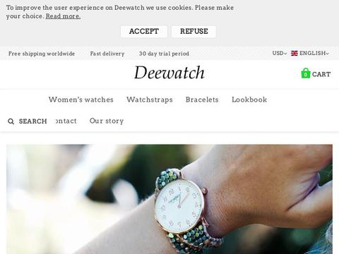 Deewatch Coupons and Promo Code