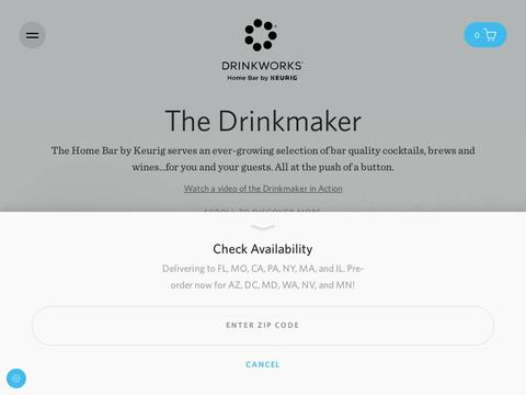 Drinkworks Coupons and Promo Code