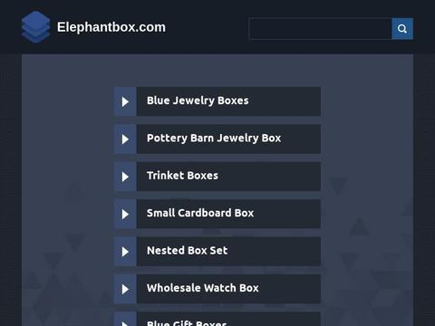 Elephantbox.com Coupons and Promo Code