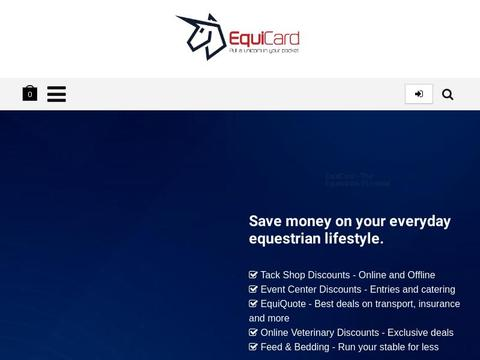Equicard Coupons and Promo Code