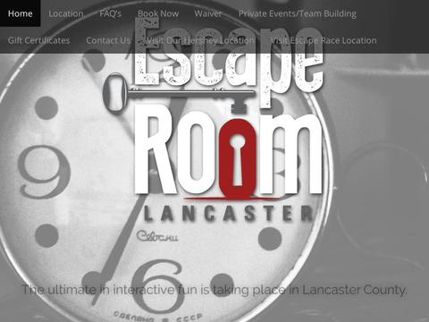 Escape Room Lancaster Coupons and Promo Code
