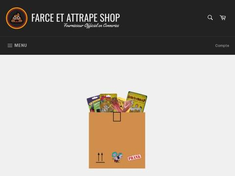 Farce Et Attrape Shop Coupons and Promo Code