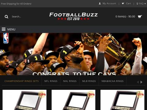 Footballbuzz.club Coupons and Promo Code