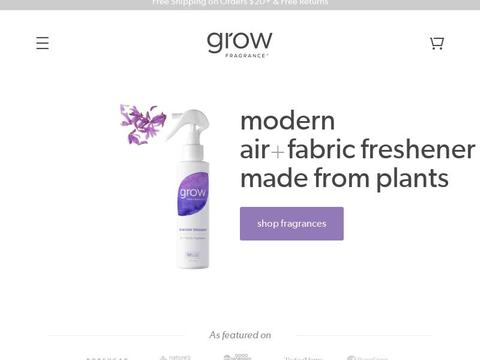 $5 Off With Promo Code At Grow Fragrance