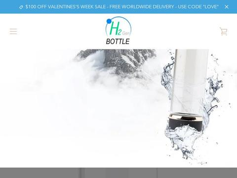 H2Genbottle Coupons and Promo Code
