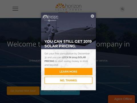 Horizon Solar Power Coupons and Promo Code