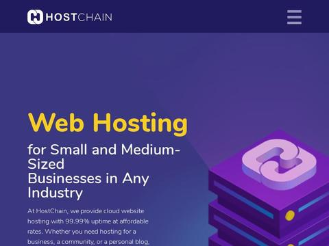 Hostchain.com Coupons and Promo Code