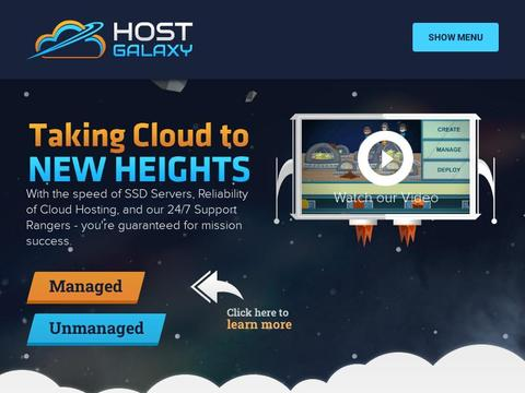 HostGalaxy Coupons and Promo Code