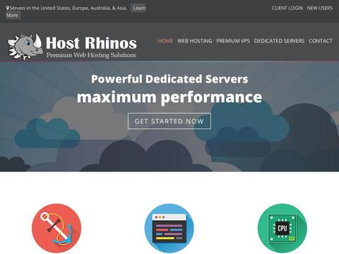 HostRhinos Coupons and Promo Code