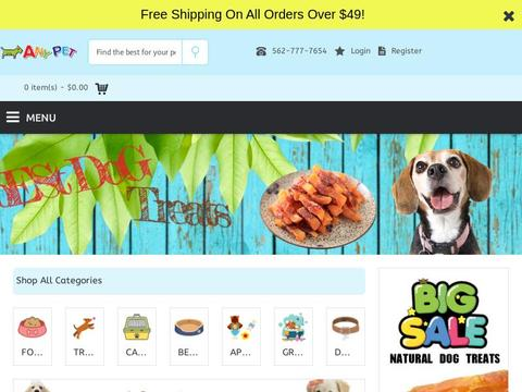 I any Pet Coupons and Promo Code