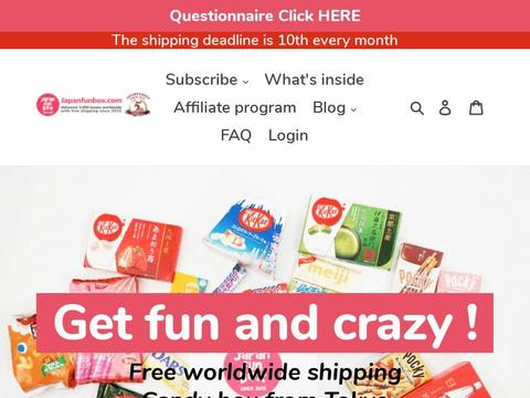 Japan Funbox Coupons and Promo Code
