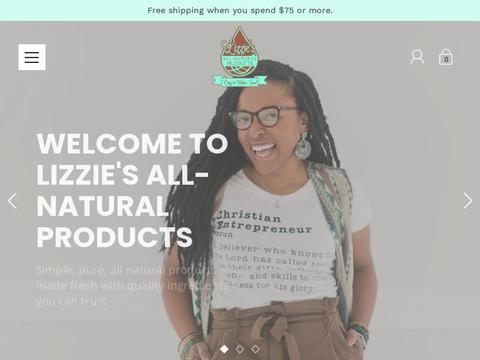 Lizzie's All-Natural Products Coupons and Promo Code