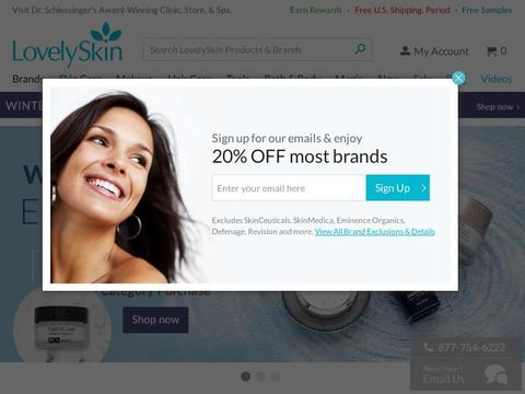 LovelySkin Coupons and Promo Code