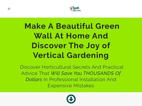 Lush Living Walls Coupons and Promo Code