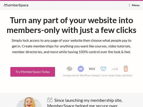 Memberspace.com Coupons and Promo Code
