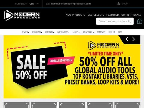 Modern Producers Coupons and Promo Code