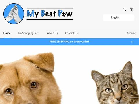 My Best Paw Coupons and Promo Code