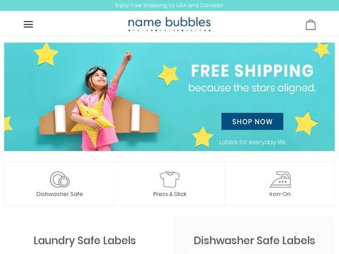 Name Bubbles Coupons and Promo Code